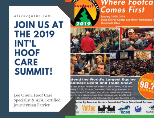 Join us at the 2019 International Hoof Care Summit!