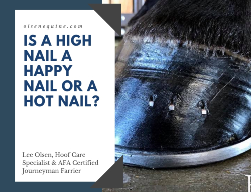 Is a high nail a happy nail or a hot nail?